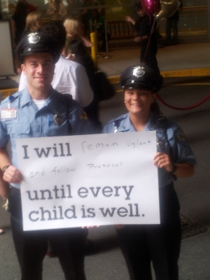 Two Longwood Officers Show their Commitment to Boston Children's Hospital