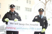 Longwood Officers Keep Boston's Children Hospital Running Smoothly